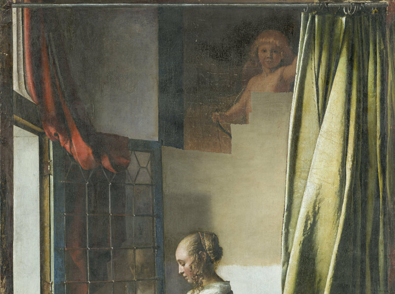 A Secret Cupid Is Emerging From a 17th-Century Vermeer