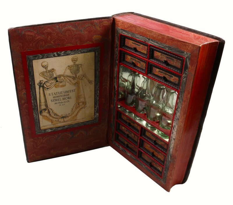 For Sale: A Poisoner's Lab Secreted in a Beautiful Book