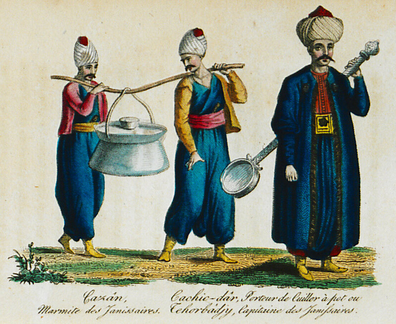 Being an Ottoman Janissary Meant War, Mutiny, and Baklava