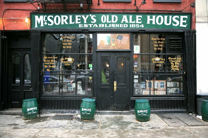 It's no longer free, but McSorley's still serves its famed meal of cheese, crackers, and raw onion.