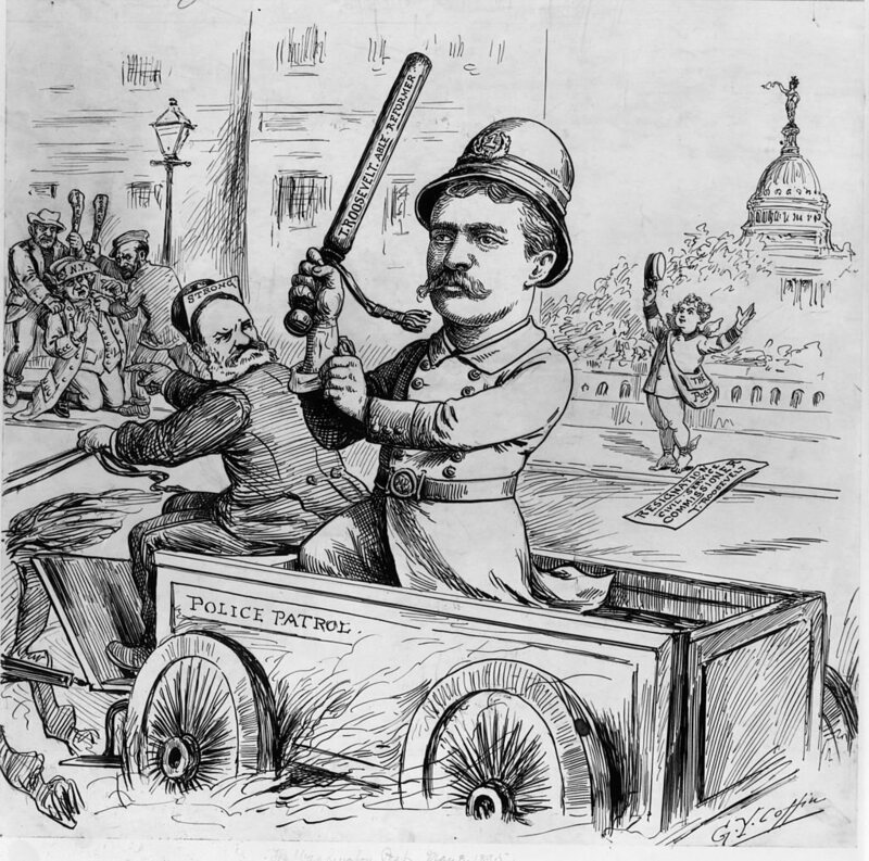 In his crackdown on vice in New York, Theodore Roosevelt supported the Raines Law.