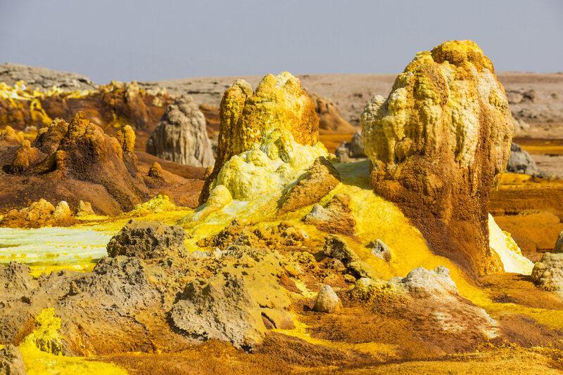 It looks a lot like Mars in Dallol.
