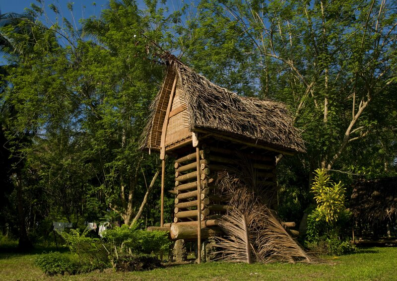 The Elaborate Yam Houses of the Trobriand Islands