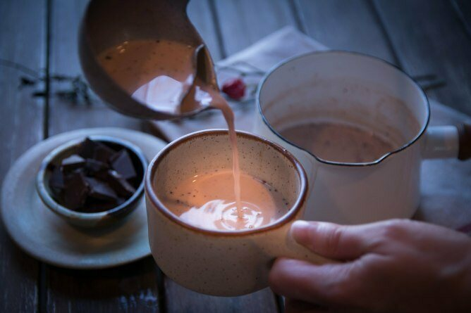 Marissa Nicosia's recreation of an early hot chocolate recipe.