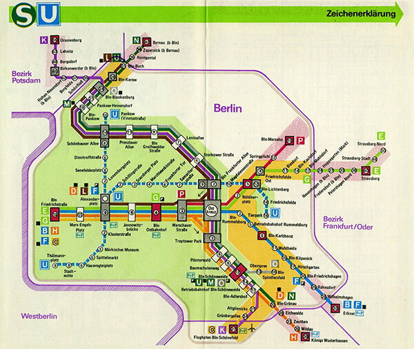 Berlin Wall Subway Map.Inside The Forgotten Ghost Stations Of A Once Divided Berlin Atlas