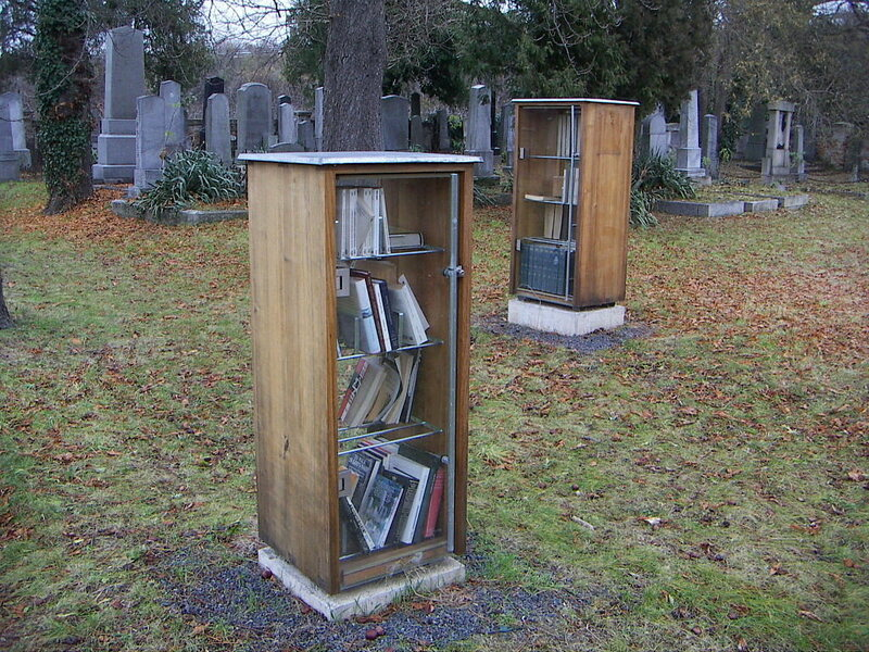 Cemetery Library in the Jewish Cemetery in Krems