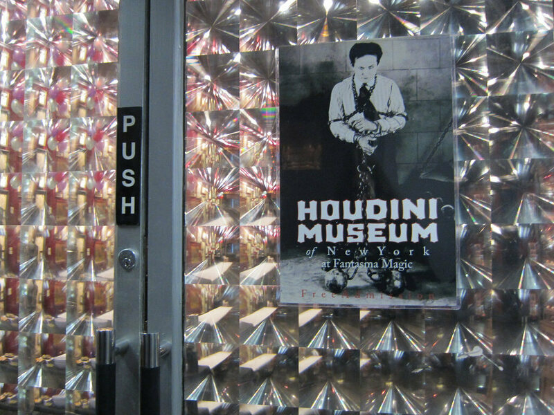 Houdini Museum in Fantasma Magic, NYC