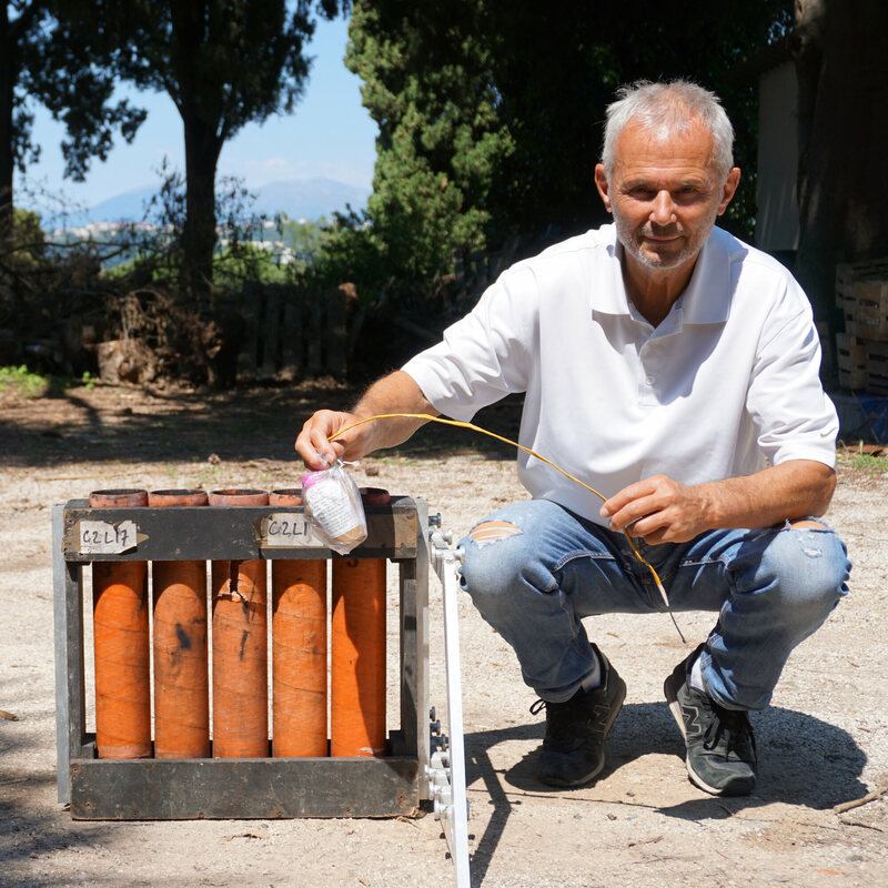 Arnello, a pyrotechnician by trade, has been responsible for the city's daily firework since 1992.