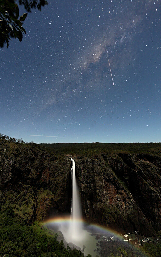 Moonbow over Wallaman Falls, Australia