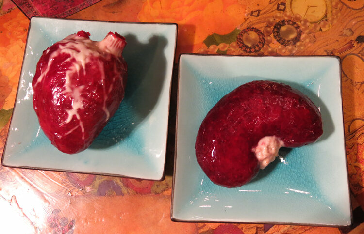 When not making otherworldly eats, Poon also needs to make convincing-looking food props, from human heart-shaped brioche to food for actors with dietary restrictions.