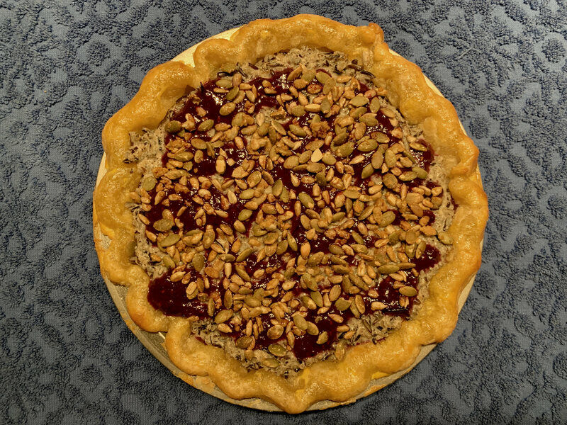 South Dakota's pie uses a rich mix of Native American ingredients.