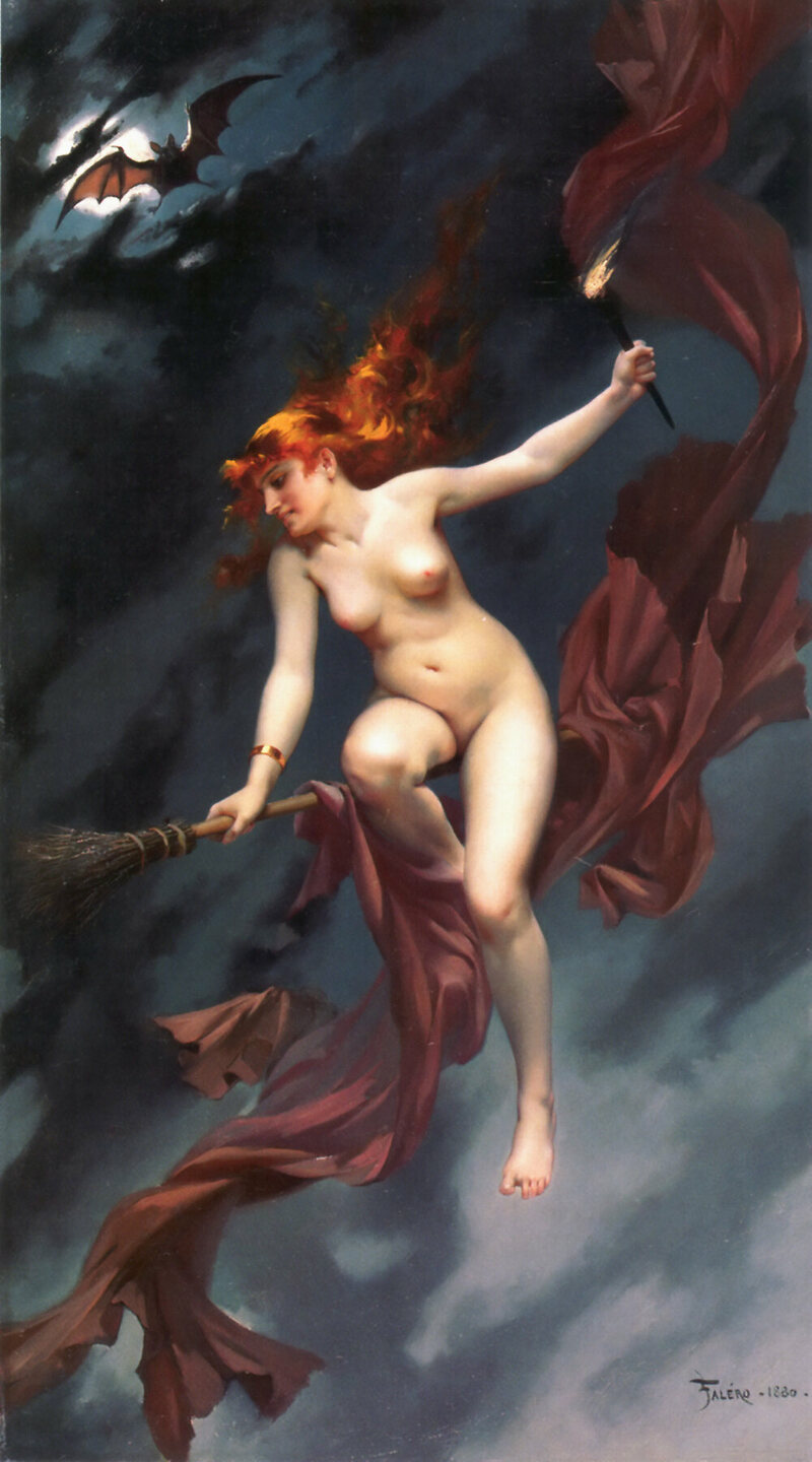 Sex, Drugs, and Broomsticks: The Origins of the Iconic Witch