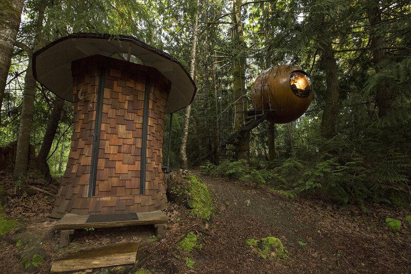 Nine Amazing Takes On Treehouses Atlas Obscura