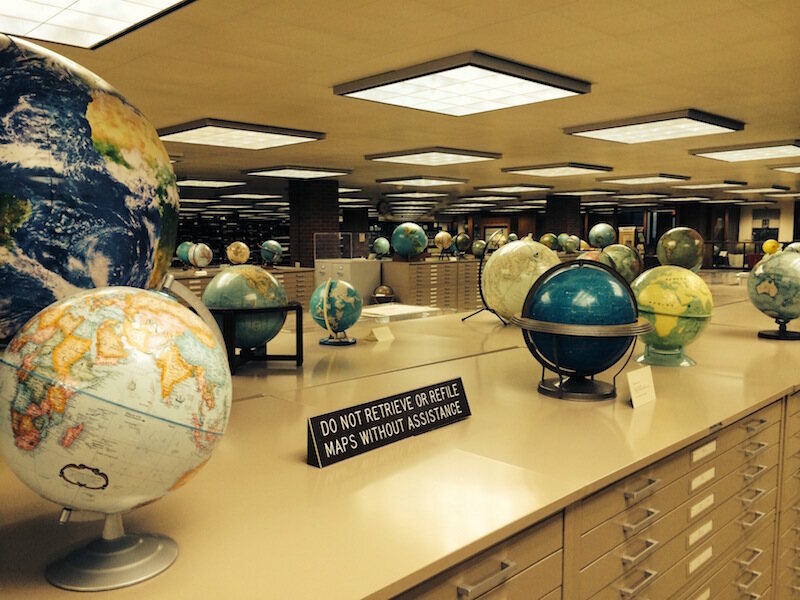 Inside the most amazing map library that youve never heard of the american geographical society library at the university of wisconsin milwaukee photo luke spencer gumiabroncs Images