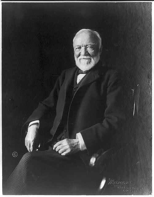 a discussion of the philantrophy of andrew carnegie The philanthropy of andrew carnegie however the organization that has become most synonymous with carnegie's philanthropy is undoubtedly carnegie discussion.