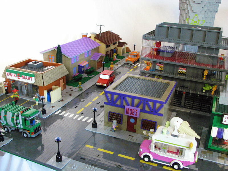 Everything We Know About Springfield Mapped Atlas Obscura - Giant lego vehicles have been appearing on the streets of ancient rome