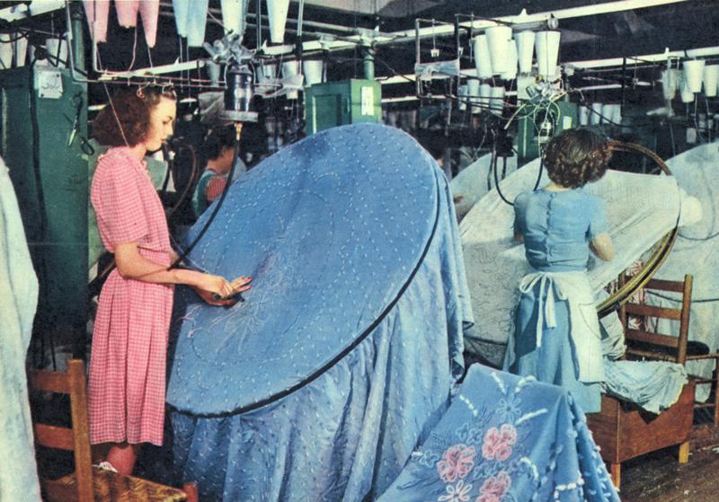 Dalton, GA: How a Bedspread Fiefdom Became A Carpet Kingdom