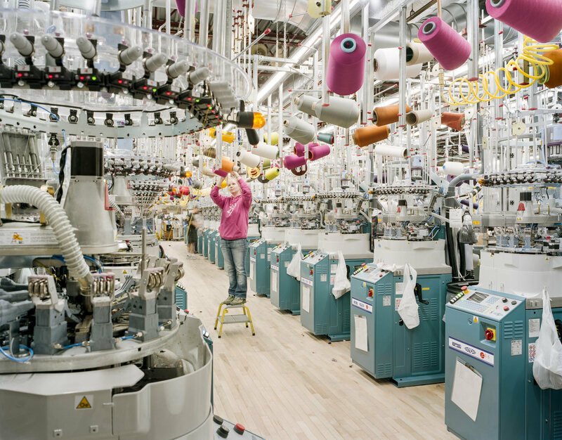 Inside The Colorful Hypnotic World Of Textile Mills