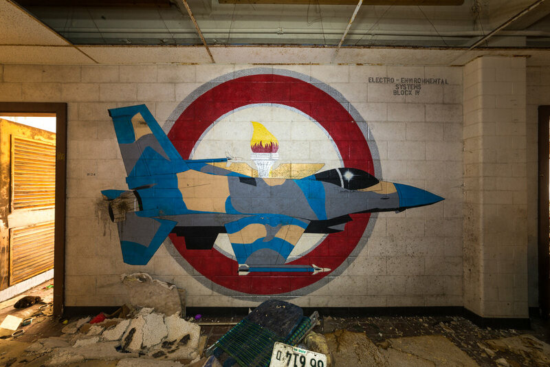 Haunting Photos Of An Abandoned Air Force Base Atlas Obscura