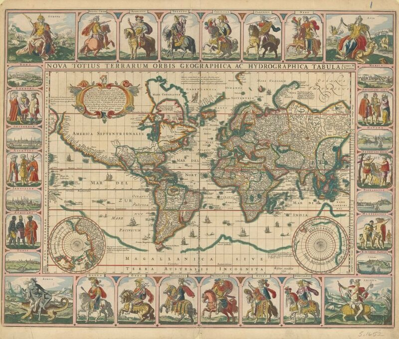 Age Of Exploration Map 7 Gorgeous Sea Maps From The Age Of Exploration   Atlas Obscura