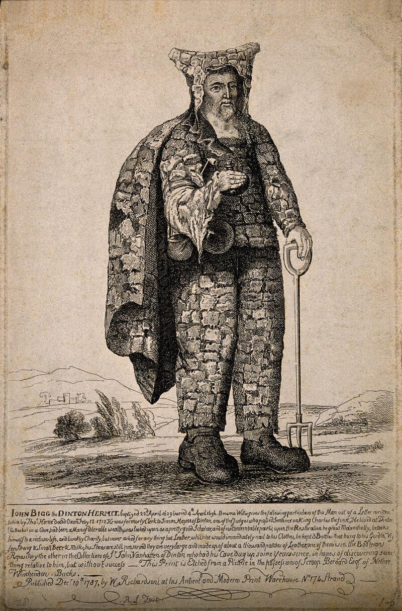 John Bigg, el ermitaño de Dinton