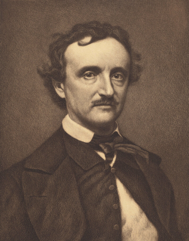 Poe often struggled to make ends meet as a writer.