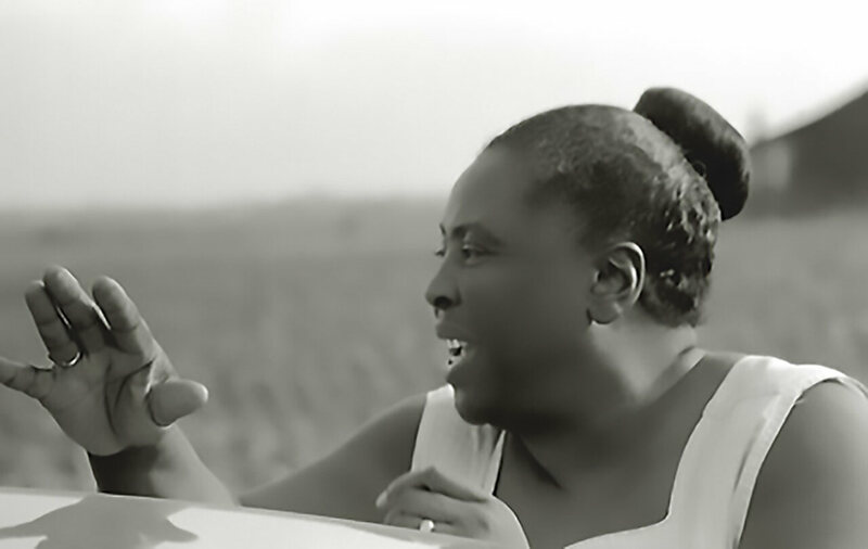 Fannie Lou Hamer at the Freedom Farm Cooperative. The co-op defined her final years.