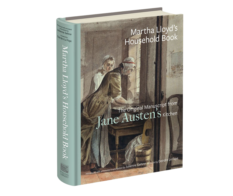 For the first time, Austen lovers can own a copy of the recipes Jane Austen likely ate every day.