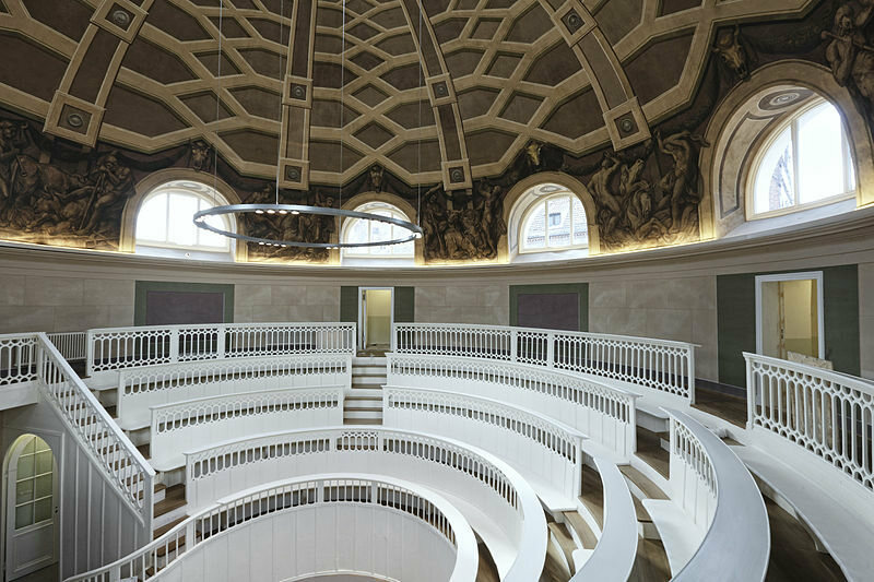 The Most Beautiful Anatomical Theaters Atlas Obscura