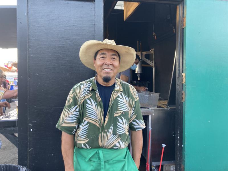 Cerda has become a San Jose baseball icon for his famed churros.
