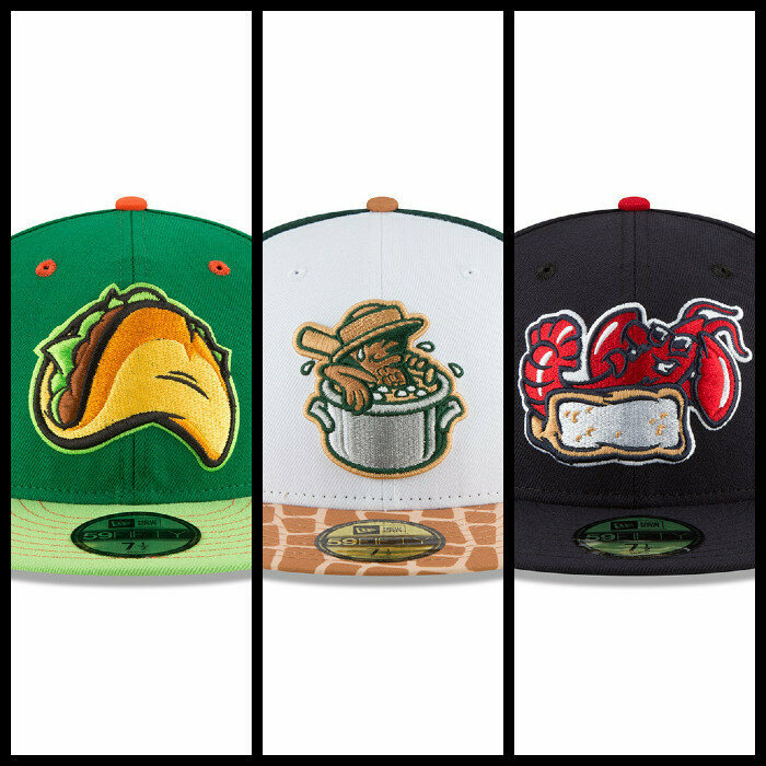 The Fresno Tacos, the Charleston Boiled Peanuts, and the New England Lobster Rolls all have thrilling food-themed merch.