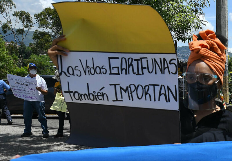 The Garifuna community in Honduras is resisting against their violent displacement.