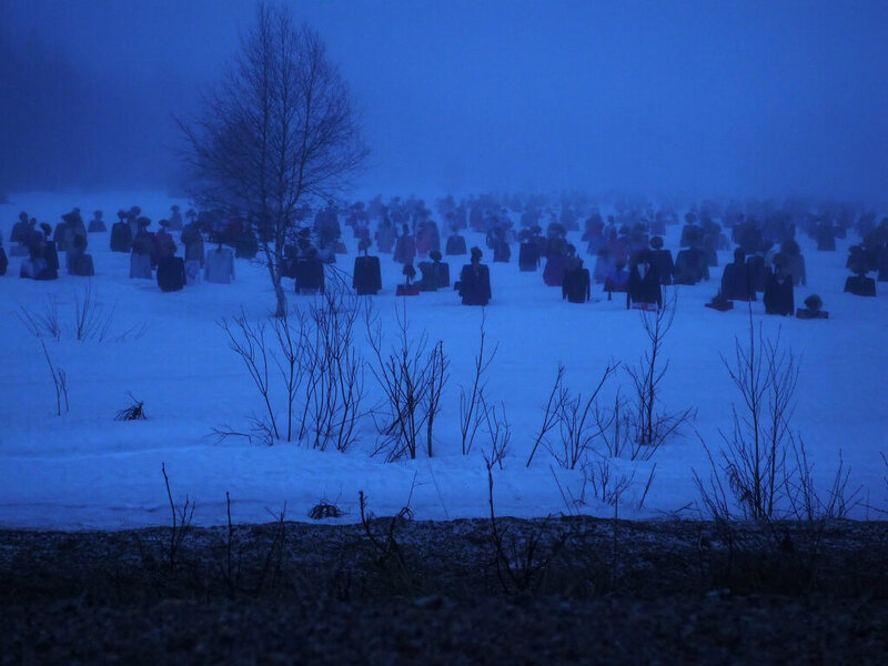 The Silent People in Finland