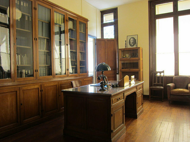 Marie Curie's Office at the Musee Curie in Paris