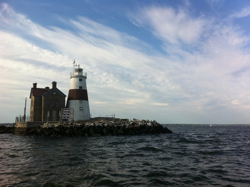Execution Rocks Lighthouse in the Long Island Sound