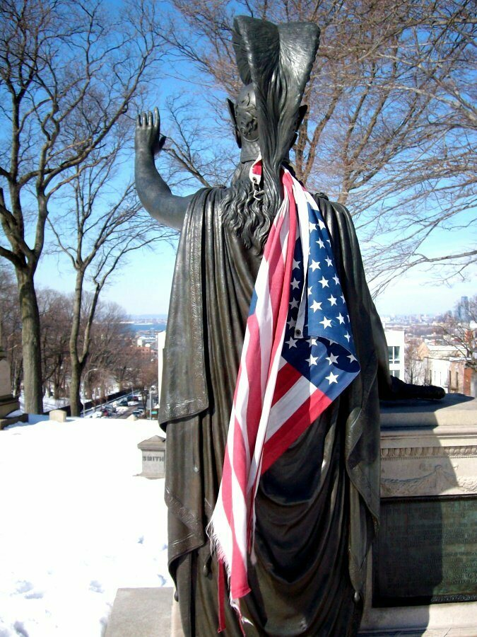 Minerva at Green-Wood Cemetery in Brooklyn