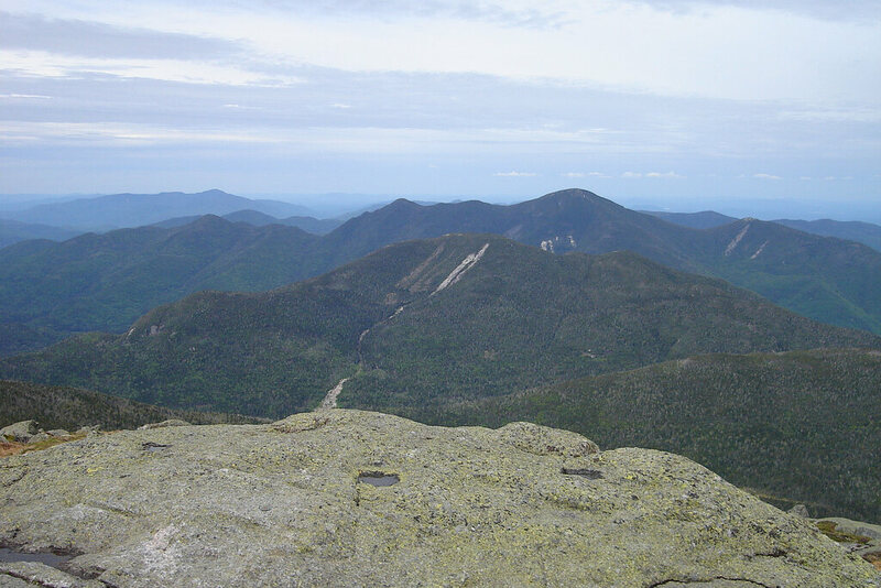 View from the Mount Marcy Summit.
