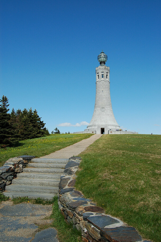 Massachusetts War Memorial Tower at the summit of Mount Greylock.
