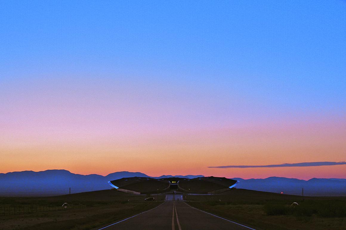 Spaceport America, New Mexico, USA.
