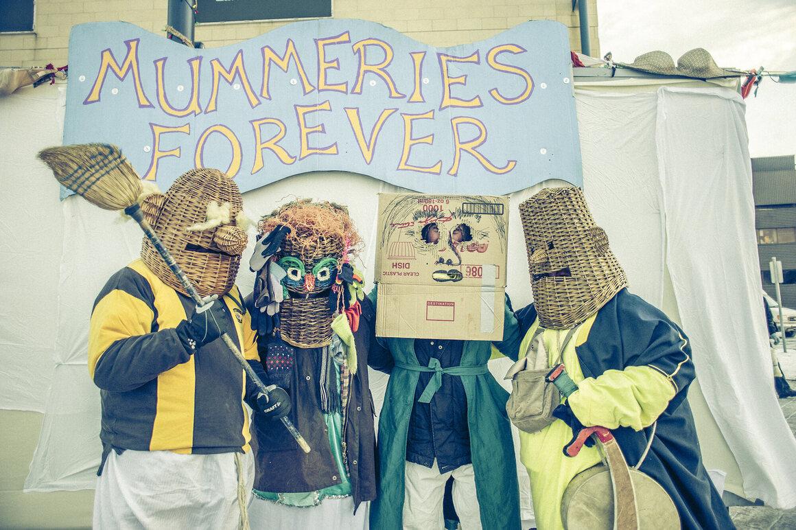 Mummers in St. John's.