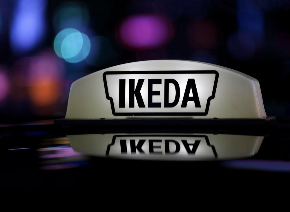 """Ikeda Taxi's corporate philosophy according to their website: """"We build a network of trust based on our rich, unique, commonsense, humanity and conversation and actions that allow our customers to have familiarity."""""""