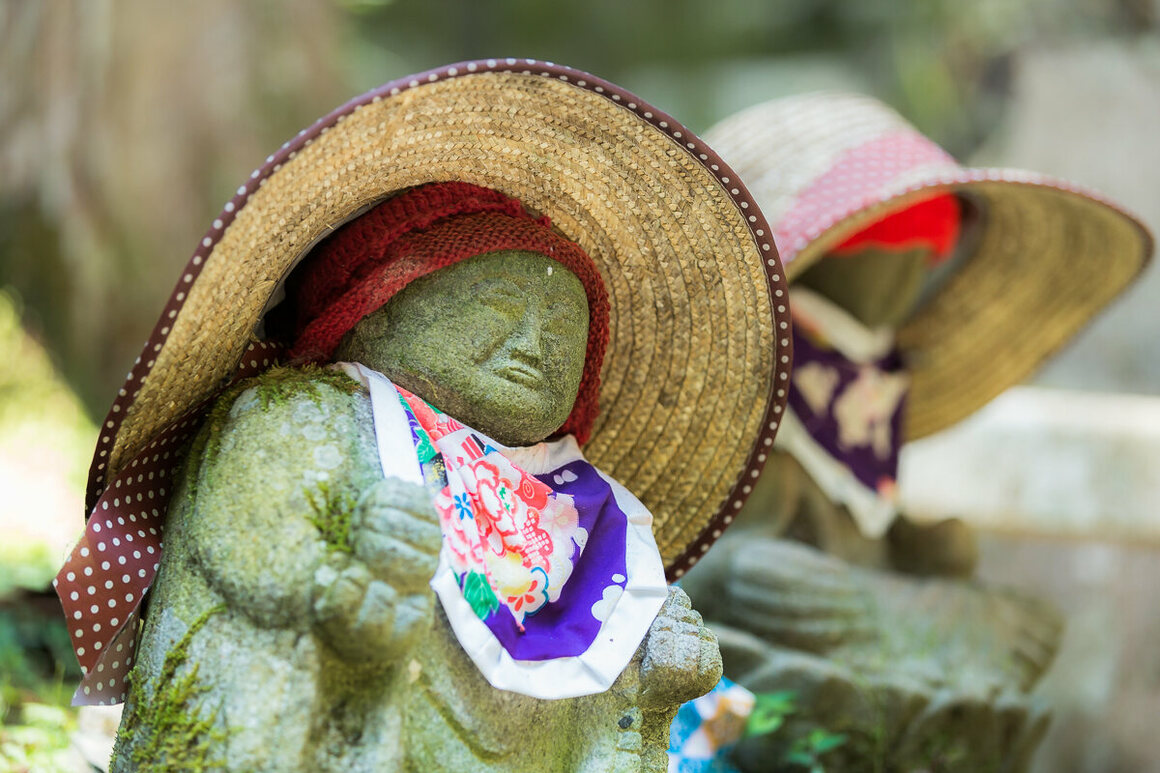 The offerings of clothes and tokens serve as way for parents to honor the memory of the children they've lost.