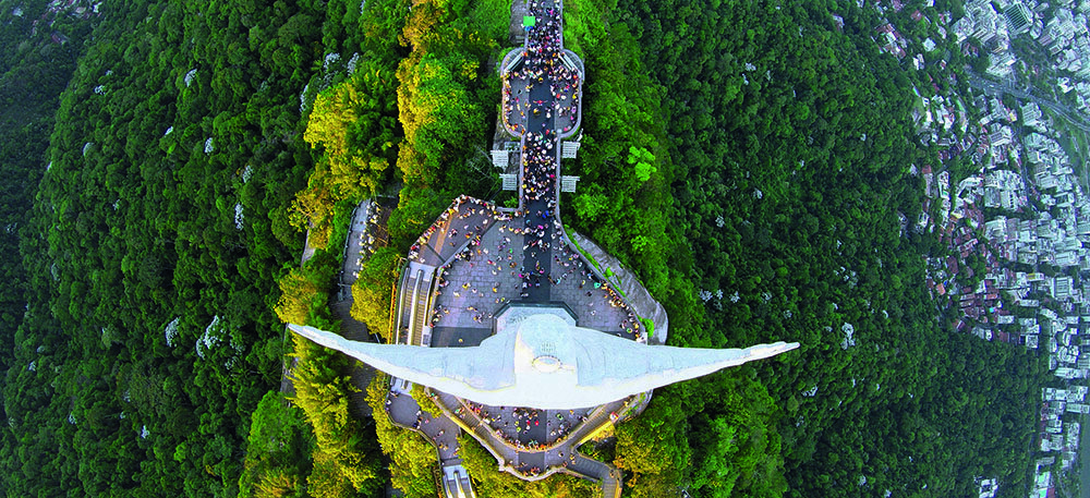 Rio de Janeiro, Brazil, by Alexandre Salem. Latitude -22.9068, Longitude -43.1729, Altitude 2,952 ft.