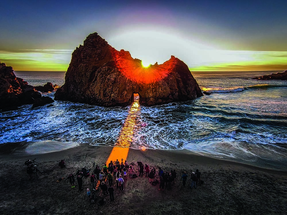 Pfeiffer Beach, Big Sur, California, by Romeo Durscher. Latitude 36.2508, Longitude -121.7943, Altitude 492 ft.