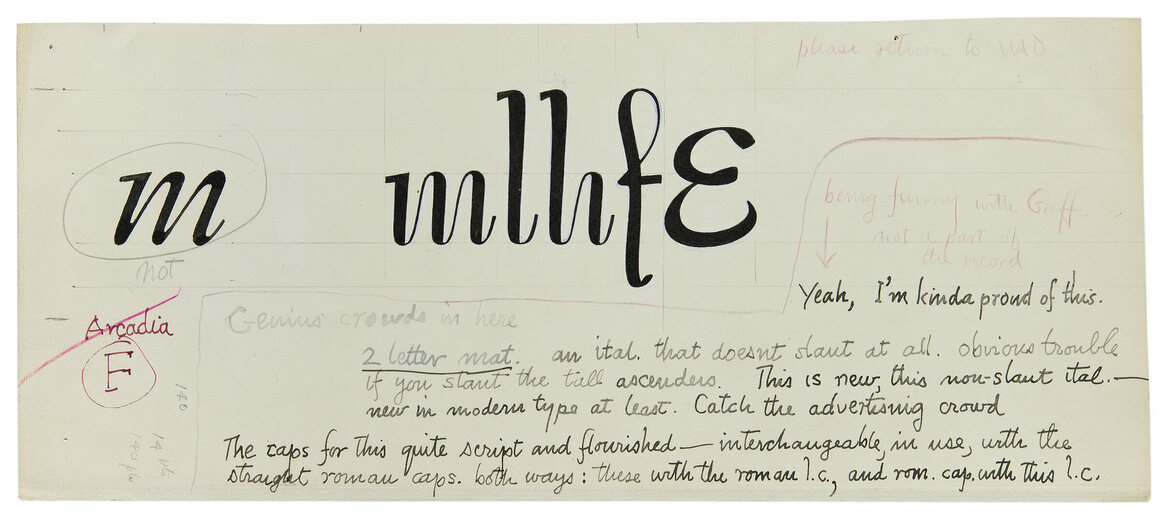 The Lost Typefaces of W A  Dwiggins - Atlas Obscura
