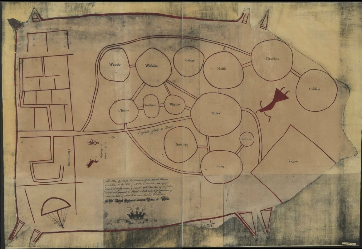 The Mysteries of a Rare, 18th-Century Native American Map