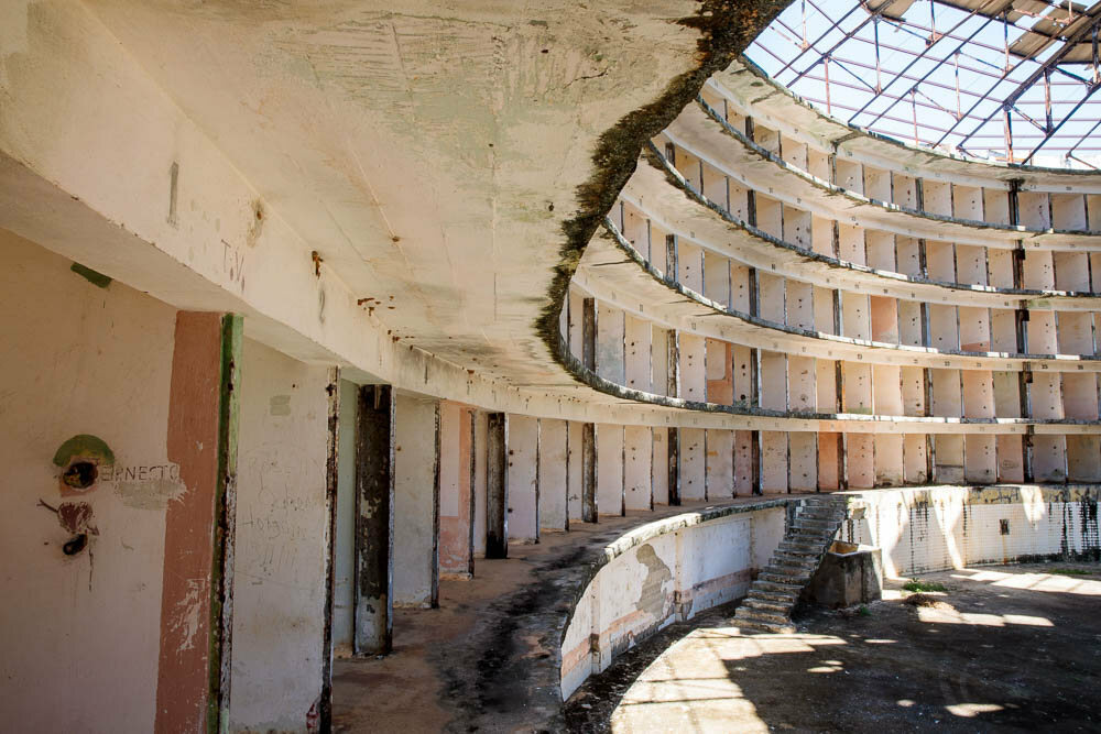 Inside An Abandoned Panopticon Prison In Cuba Atlas Obscura