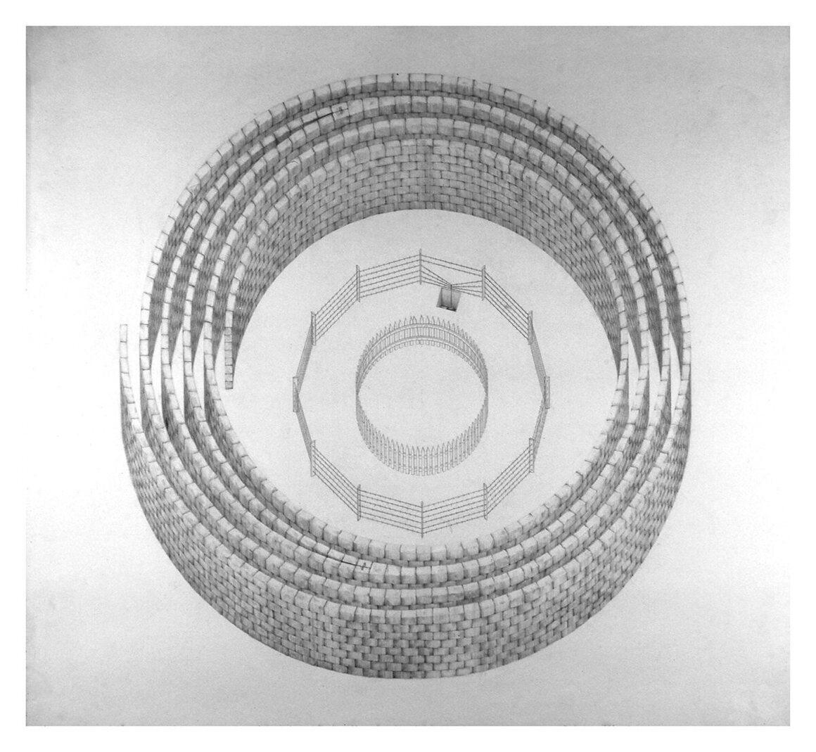 <em>Passage</em>, Liz Diller, Design III, 1976-77.