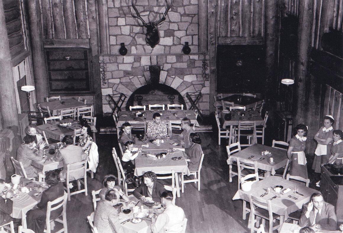 Fuller Lodge at Los Alamos