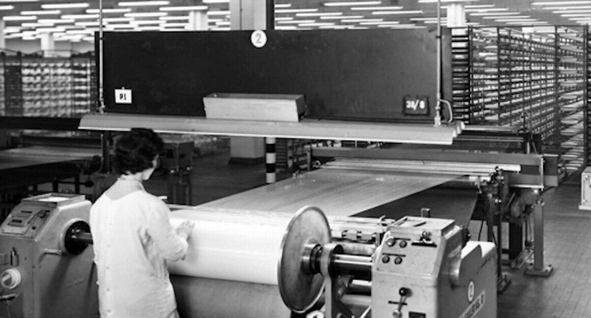 Inside the SNIA Viscosa factory at Varedo